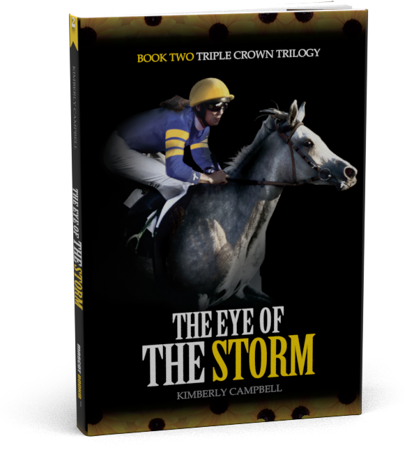 Calm Before the Storm Book Cover by Kimberly Campbell