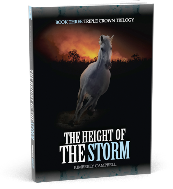 Height of the Storm Book Cover by Kimberly Campbell